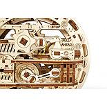 Конструктор 3D-пазл Ugears Моноколесо 300 деталей, фото 4