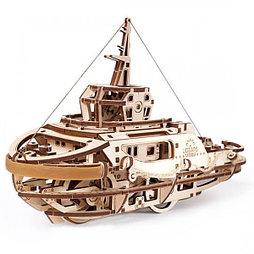 Конструктор 3D-пазл Ugears Буксир 169 деталей