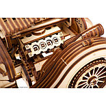 Конструктор 3D-пазл Ugears Родстер VM-01 437 деталей, фото 6