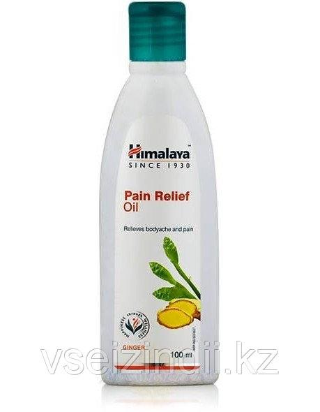 Болеутоляющее массажное масло Пэйн Релиф Ойл, Гималаи (Pain Relief Oil, Himalaya), 100 мл