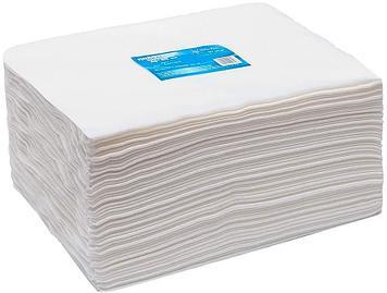 Полотенце 45x90 см в пачках, White Line 50 штук/уп