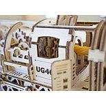 Конструктор 3D-пазл Ugears Локомотив с тендером 443 детали, фото 4