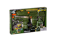 Детский набор военный с оружием