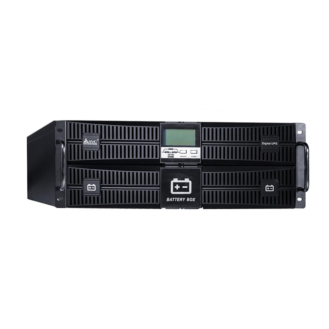 SVC RT-10KL-LCD Источник бесперебойного питания 10кВА/10кВт, Стоечный 19'' 4U