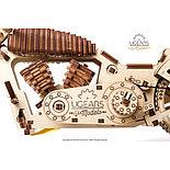 Конструктор 3D-пазл Ugears Байк VM-02 189 деталей, фото 6