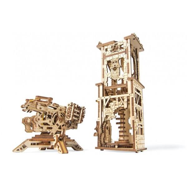 Конструктор 3D-пазл Ugears Башня-аркбаллиста 292 детали