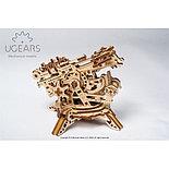 Конструктор 3D-пазл Ugears Башня-аркбаллиста 292 детали, фото 2