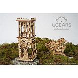 Конструктор 3D-пазл Ugears Башня-аркбаллиста 292 детали, фото 3