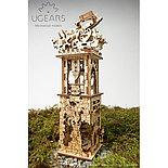 Конструктор 3D-пазл Ugears Башня-аркбаллиста 292 детали, фото 5