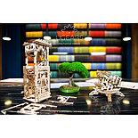Конструктор 3D-пазл Ugears Башня-аркбаллиста 292 детали, фото 7