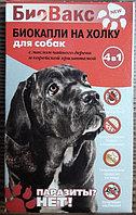 Биокапли на холку от блох БиоВакс для собак