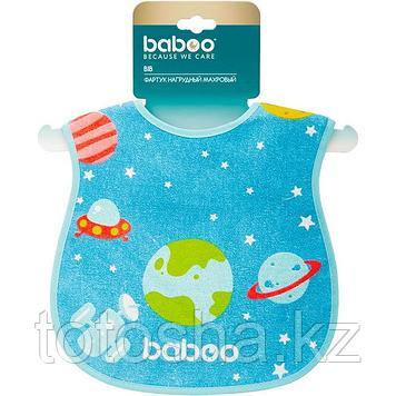 Фартук нагрудный Space махровый (х/б с полимерн. пленкой) 12 м+ Baboo 11-204
