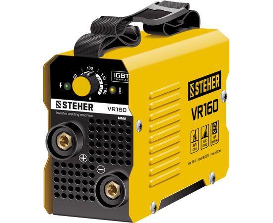Сварочный инвертор STEHER VR-160, 160А, ММА, 220 В