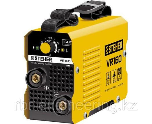 Сварочный инвертор STEHER VR-160, 160А, ММА, 220 В, фото 2