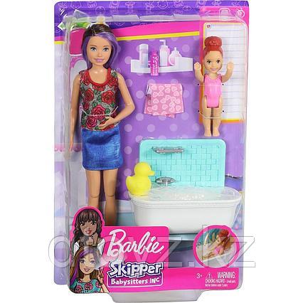 Barbie Няня Купание