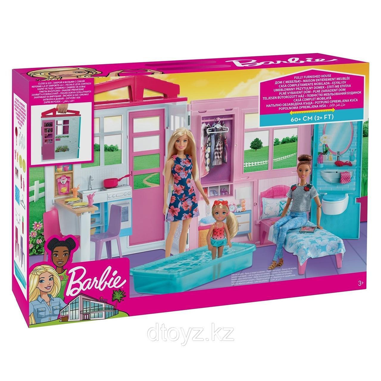 Barbie Набор игровой Кукольный дом