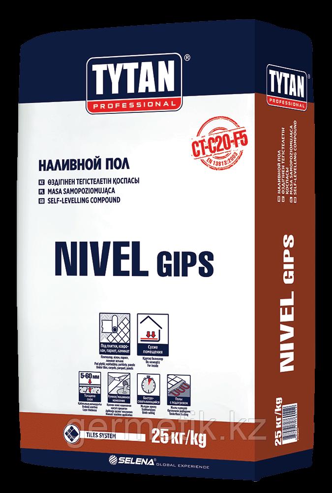 TYTAN NIVEL GIPS пол наливной, 25кг