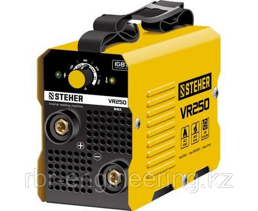 Сварочный инвертор STEHER VR-250, 220 В, 250 А, фото 2