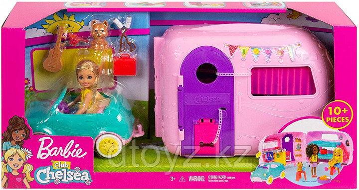 Barbie Набор игровой Клуб Челси Дом на колесах