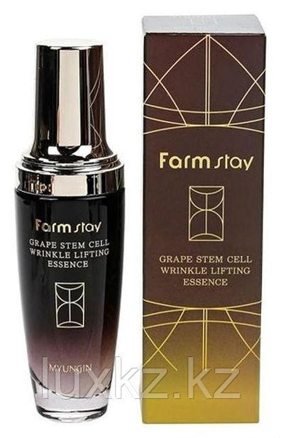 Эссенция с фито-стволовыми клетками винограда FarmStay Grape Stem Cell Whitening Lifting Essence