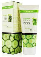 Пенка для умывания с огуречным экстрактом FarmStay Cucumber Pure Cleansing Foam