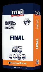 TYTAN FINAL BS42 шпаклевка полимерная финишная (25кг)