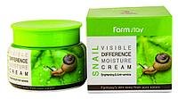 Увлажняющий крем с экстрактом улитки FarmStay Visible Difference Moisture Cream Snail