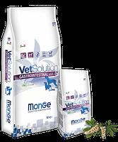 8104 Monge Grain Free Vetsolution Adult Gastrointestinal, Монже сухой корм для собак с гастропаталогией,уп 2кг