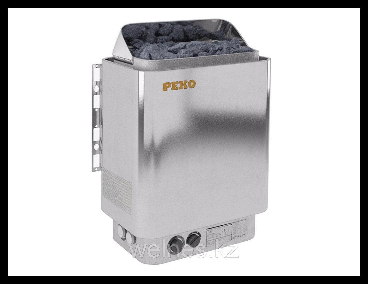 Электрическая печь Peko EGH-90 Chrome (со встроенным пультом)