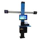 NORDBERG СТЕНД СХОД-РАЗВАЛ 3D модель C802-СA настенный (без колонны) с поворотным механизмом