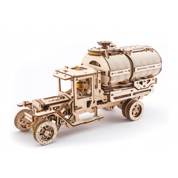 Конструктор 3D-пазл Ugears Автоцистерна 594 детали