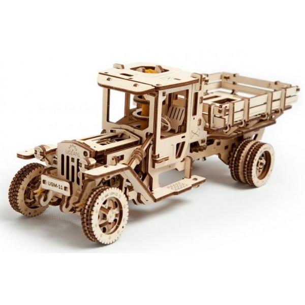 Конструктор 3D-пазл Ugears Грузовик UGM-11 420 деталей