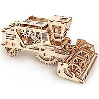 Конструктор 3D-пазл Ugears Комбайн 154 детали