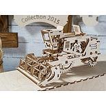 Конструктор 3D-пазл Ugears Комбайн 154 детали, фото 3