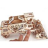 Конструктор 3D-пазл Ugears Комбайн 154 детали, фото 5
