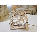 Конструктор 3D-пазл Ugears Механическая шкатулка 61 деталь, фото 4