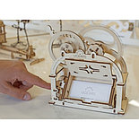 Конструктор 3D-пазл Ugears Механическая шкатулка 61 деталь, фото 6