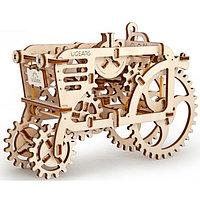 Конструктор 3D-пазл Ugears Трактор 97 деталей