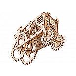 Конструктор 3D-пазл Ugears Трактор 97 деталей, фото 2