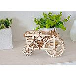 Конструктор 3D-пазл Ugears Трактор 97 деталей, фото 3
