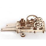Конструктор 3D-пазл Ugears Пневматический двигатель 81 деталь, фото 2