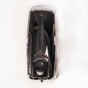 Диспенсер для жидкого мыла TOUCH SOAP DISPENSER XG07 [450 мл] (Хром)