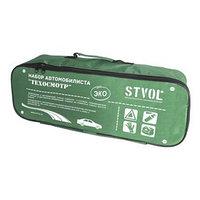 Сумка автомобильная Stvol эко 45х20х16 см, зеленый