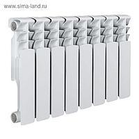Радиатор Tropic 350x80 мм биметаллический, 8 секций