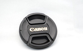 Крышка на объектив CANON  40.5/43/49/52/55/58/62/67/72, фото 3