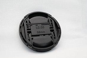 Крышка на объектив CANON  40.5/43/49/52/55/58/62/67/72, фото 2