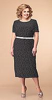 Платье Romanovich-1-1977, черно-белый, 54