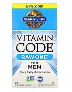 Garden of Life, Vitamin Code, Raw One, мультивитаминная добавка из сырых ингредиентов для мужчин, фото 3