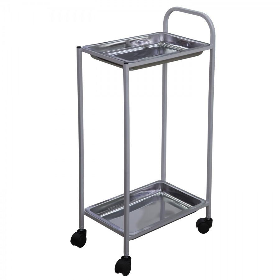 Столик инструментальный (2 лотка)