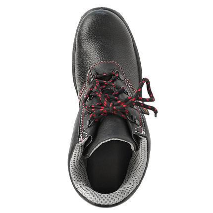 Ботинки летние мужские рабочие кожаные РЕДГРЕЙ с МП, фото 2